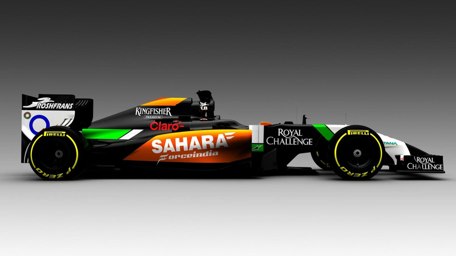 New Force India also has 'anteater' nose