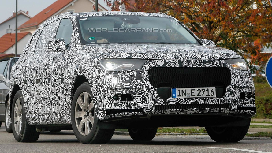 2015 Audi Q7 spied testing in Germany