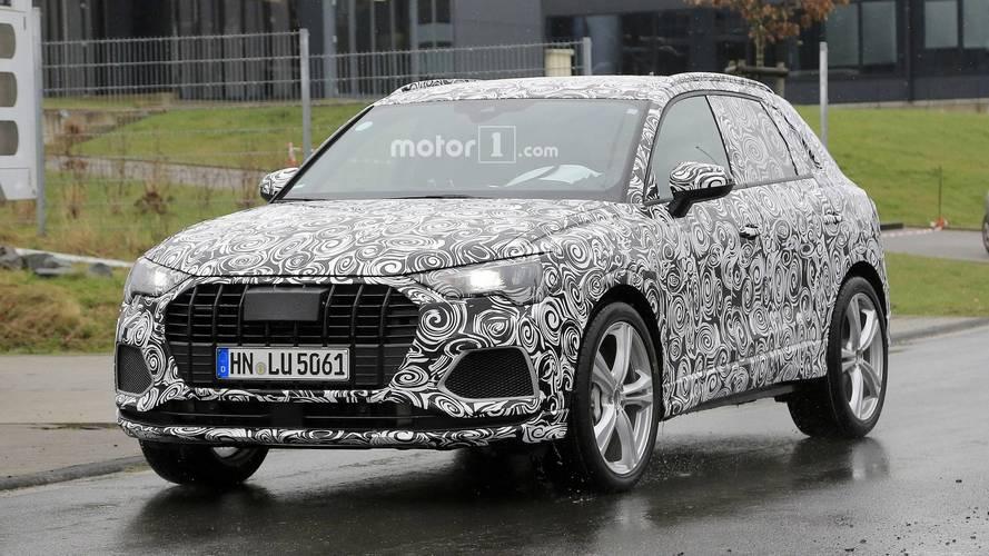 L'Audi SQ3 a débuté ses premiers tests