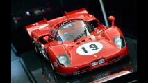Ferrari Store di Roma, la mostra di modelli in scala Amalgam 058