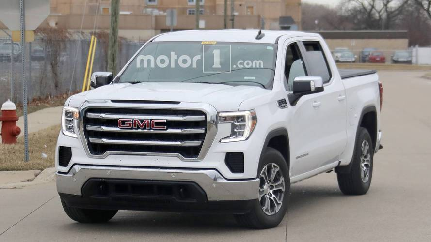 This Is What The Cheaper 2019 GMC Sierra SLE Looks Like