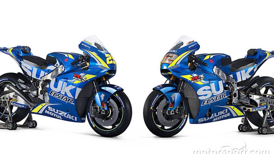 Suzuki presenta su moto para la temporada 2018 de MotoGP
