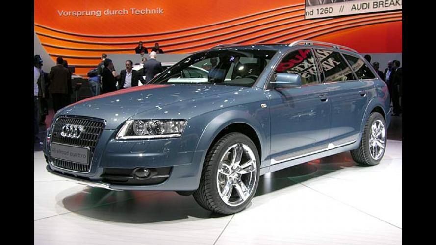 Audi A6 allroad quattro: Luxus-Kombi für schlechte Strecken