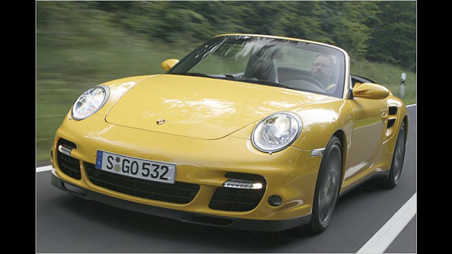 Drucksache: Das neue Porsche 911 Turbo Cabriolet im Test