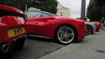 70 Ferraris in central London