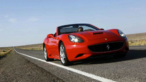 Green Ferrari California set for Paris Unveiling - report