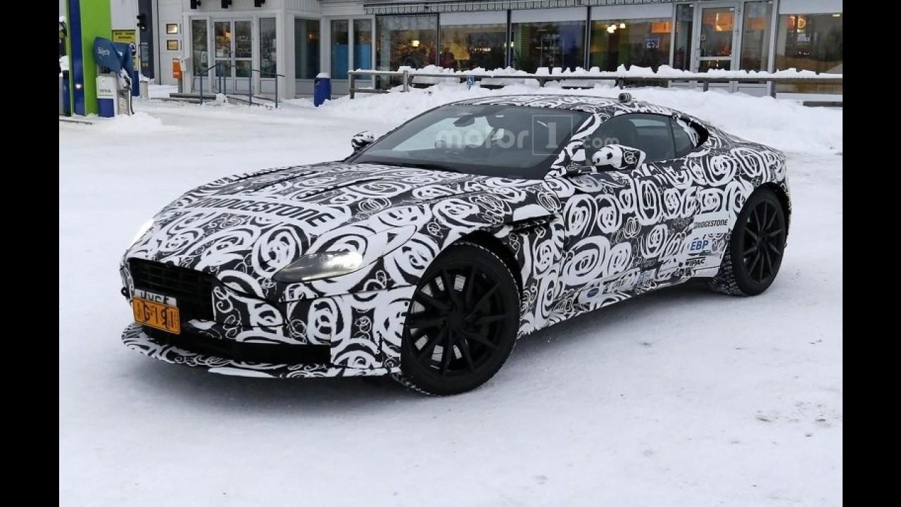 Aston Martin DB11'in altında ne yatıyor?