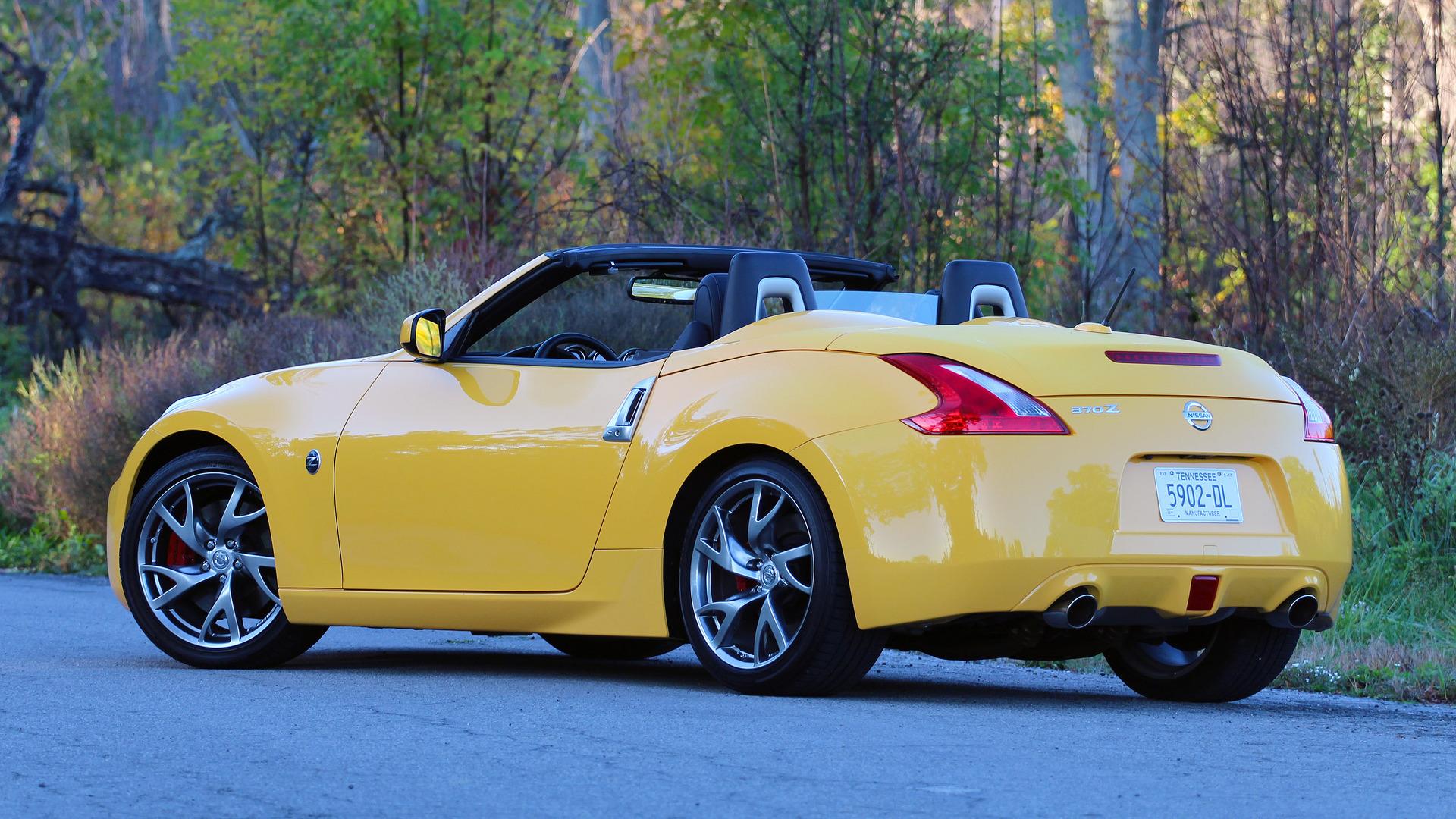 com convertible up top roadster test nissan drive nikjmiles