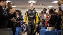 Renault Sport F1 test driver Nicholas Latifi visits Infiniti Canada