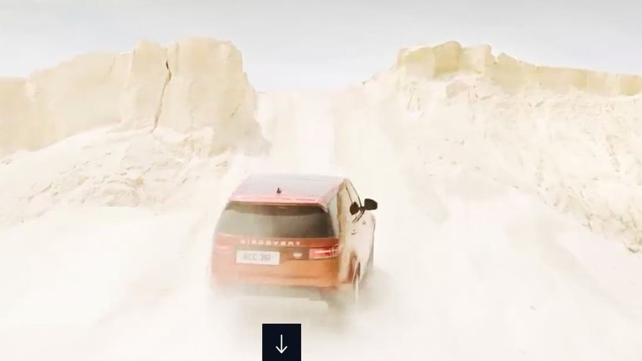 2017 Land Rover Discovery leaked official image