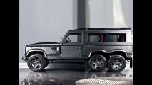 Land Rover'dan Mercedes'in 6x6'sına cevap