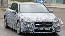 2018 Mercedes-AMG A35 spy photos