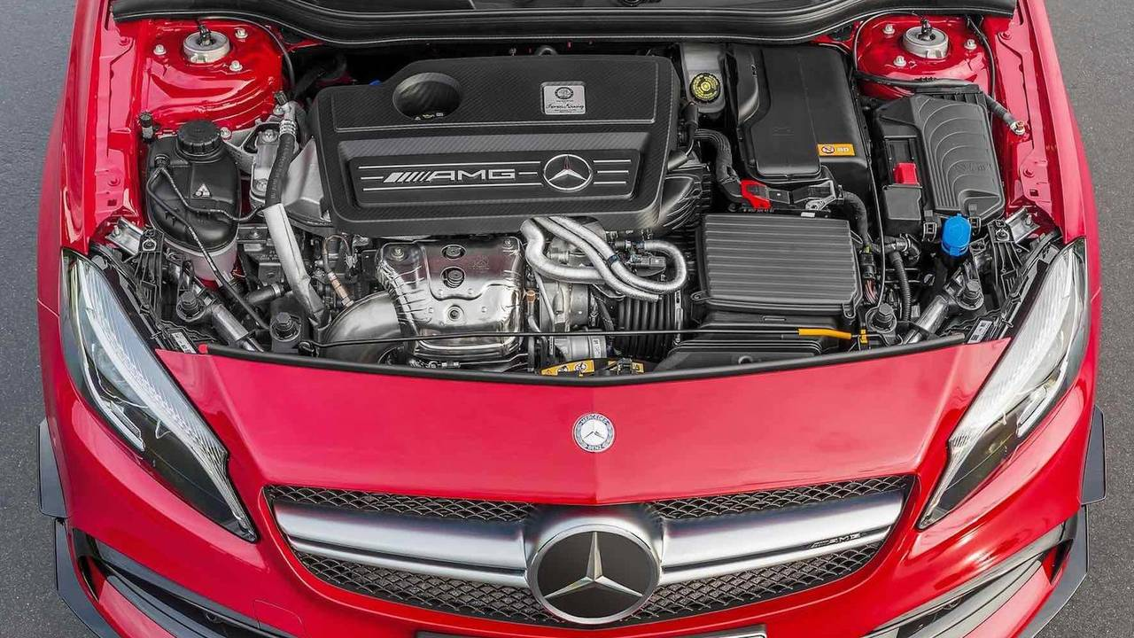4 cylindres - Moteur 2,0 L de Mercedes-AMG