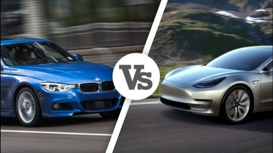 BMW, sfottò a Tesla in TV
