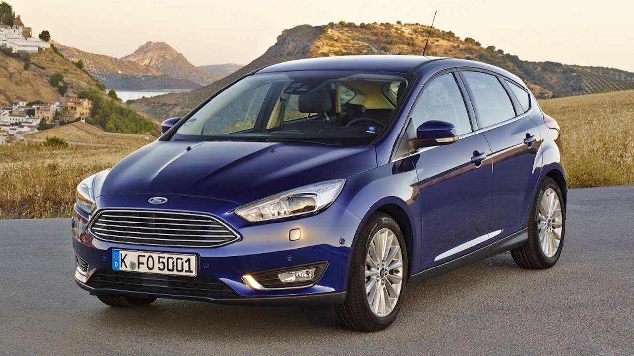Ford Focus Restyling (2014)