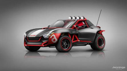 If Motorcycle Companies Made Cars, They Might Look Like This
