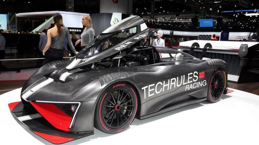 Turbine-Powered Techrules Ren RS Live From Geneva Motor Show