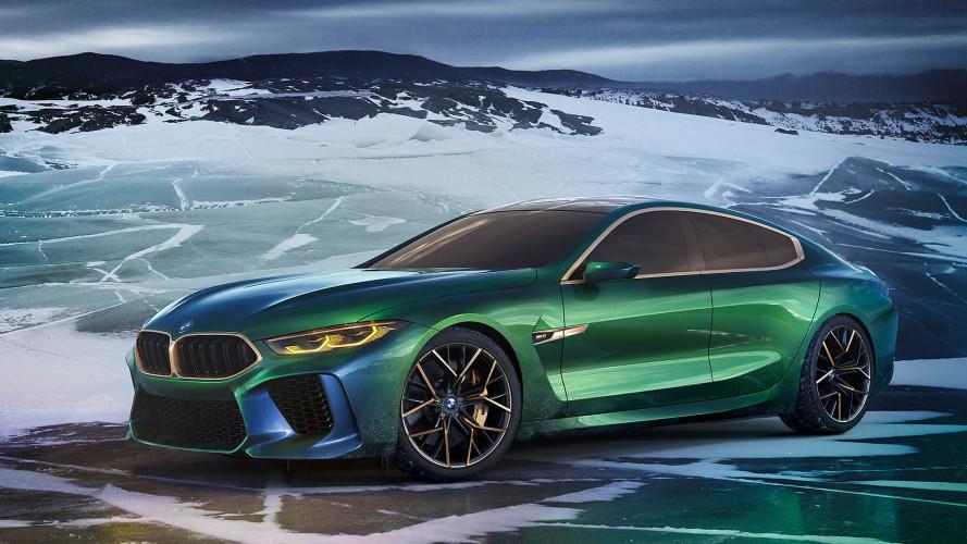 BMW M8 Gran Coupé Concept: de la pasarela al asfalto