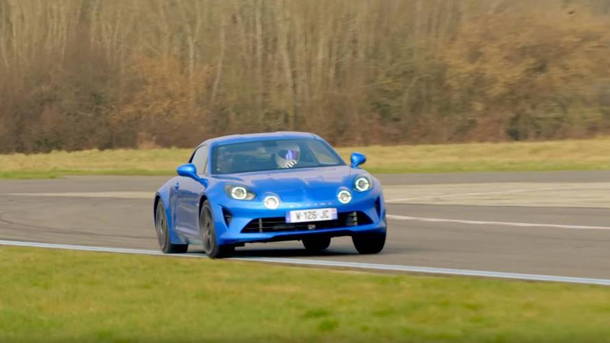 Alpine A110'un Top Gear pistindeki performansını izleyin