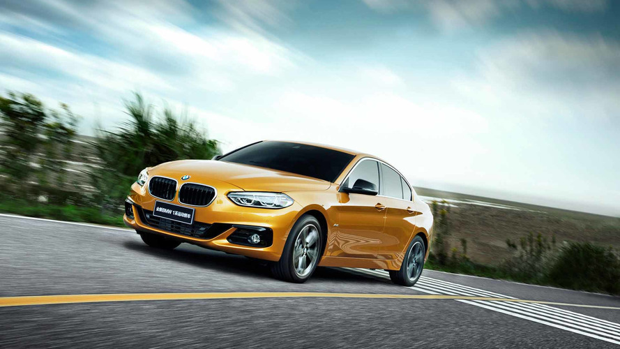 New BMW 1 Series sedan built exclusively for China