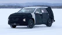 Yeni nesil Hyundai Santa Fe casus fotoğrafları