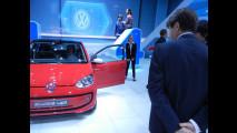 Olivier Francois allo stad Volkswagen al Salone di Ginevra 2012