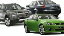 Holden VE Commodore, SS V Sedan & Captiva 60th Anniversary Special Editions
