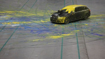 Audi RS4 Avant paintball 26.2.2013