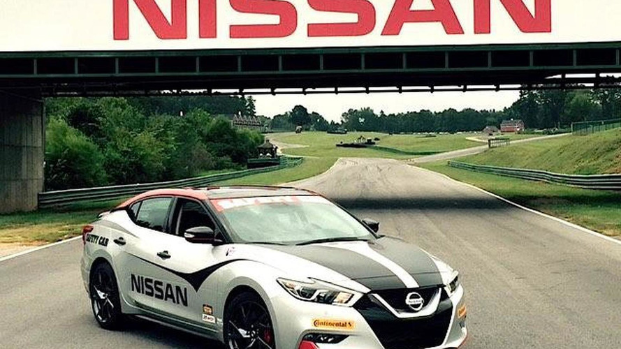 Nissan Maxima safety car unveiled