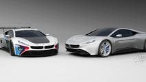 BMW M1 design study
