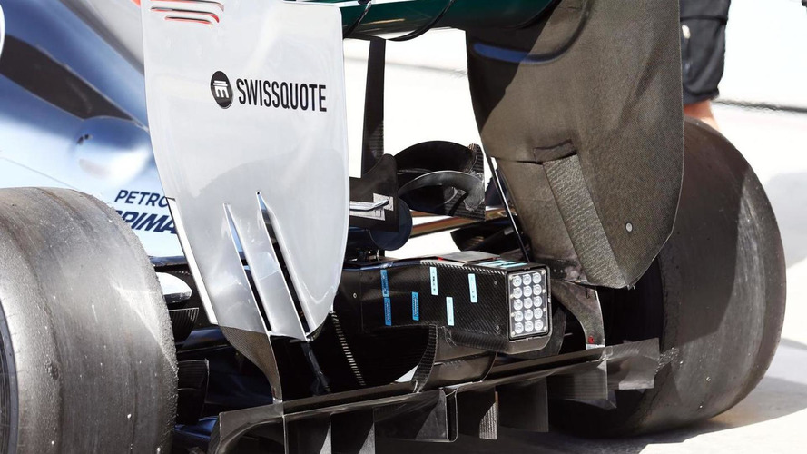 Mercedes to test 'megaphone' next week
