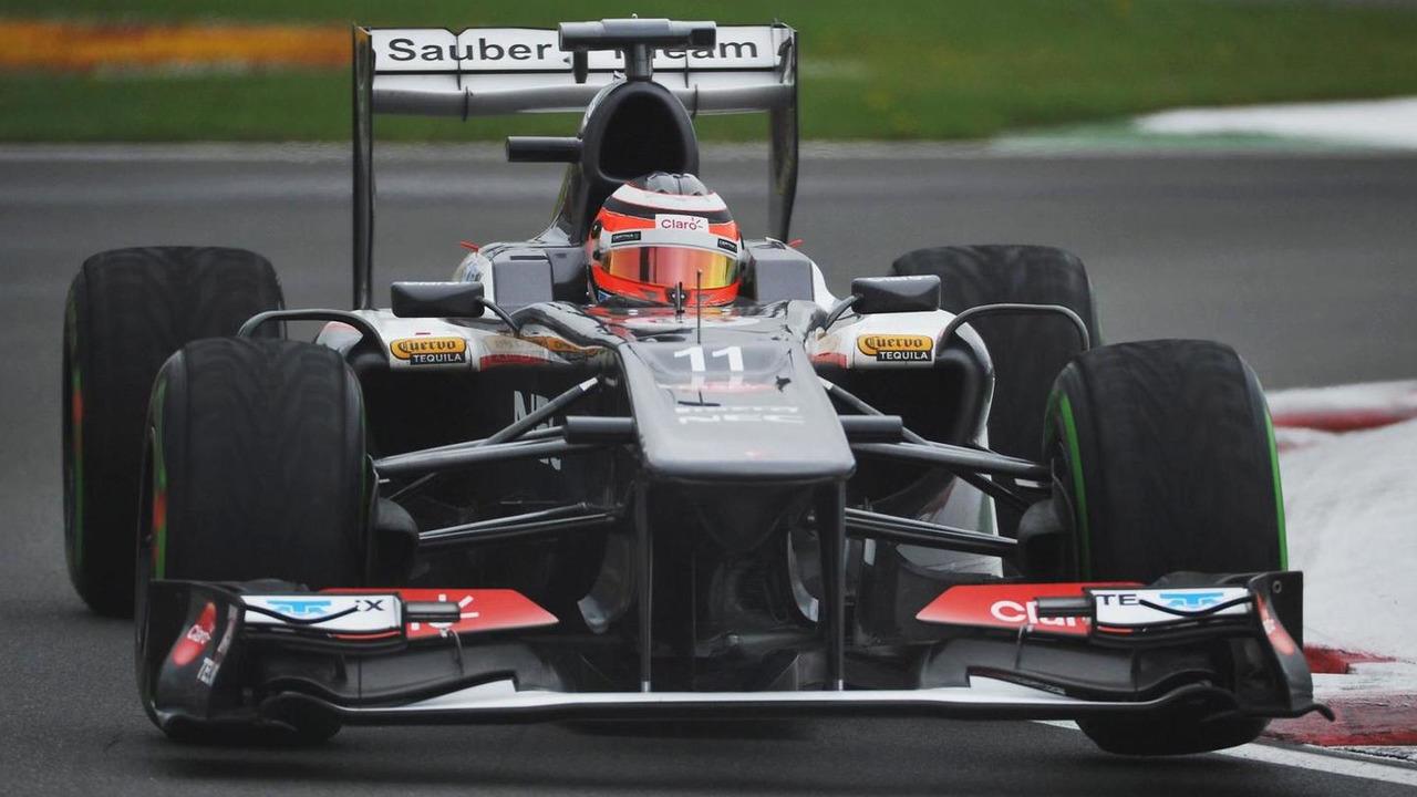 Nico Hulkenberg (GER) Sauber C32
