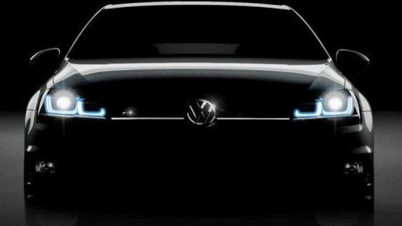Purported Volkswagen Golf R teaser image 19.8.2013