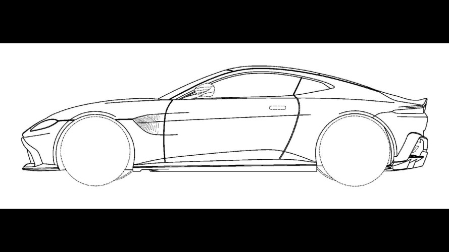 Aston Martin Vantage Design Sketch