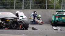 DTM 2017 - Norisring, accident entre Rockenfeller et Paffett