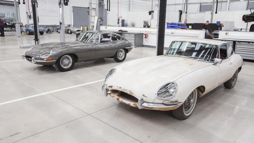Jaguar Land Rover soigne ses anciennes