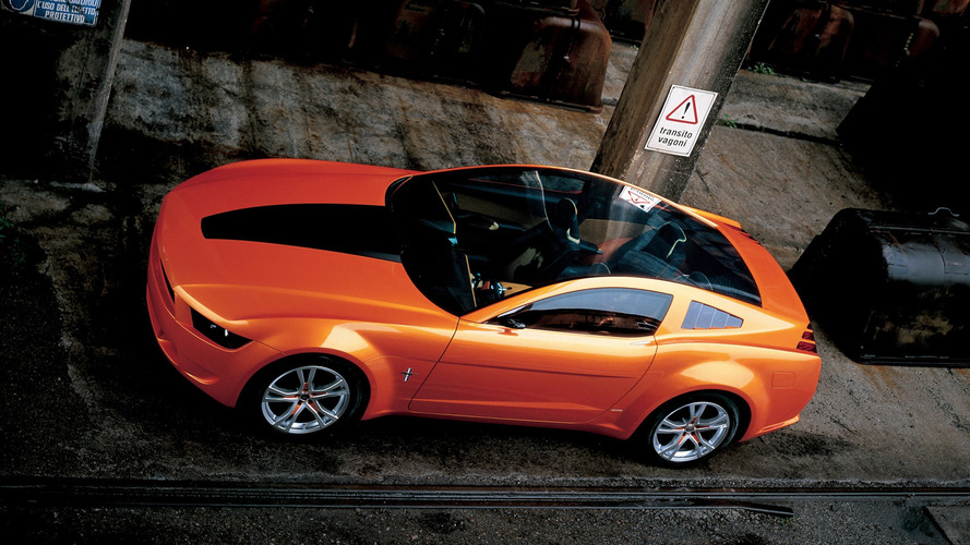 2006 Ford Mustang Giugiaro: Concept We Forgot