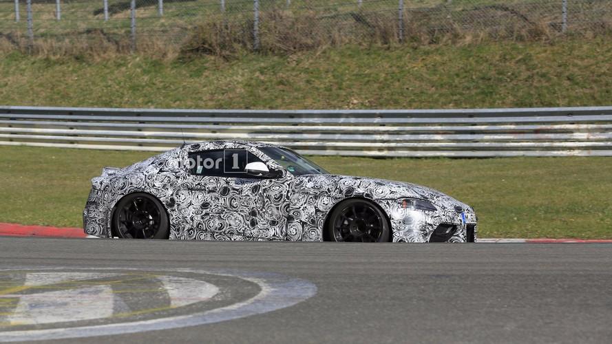 Toyota Supra 2018: fotos y vídeo espía en Nürburgring