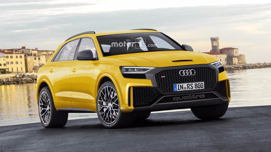 Audi Q8 ve RS Q8'i hayal ediyoruz