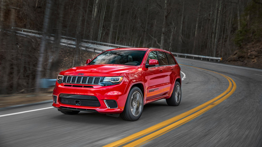 Jeep Grand Cherokee Trackhawk Offers 707 HP For $85,900