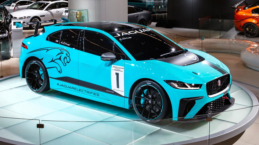 Jaguar I-Pace Goes Racing In 2018 As Formula E Support Series