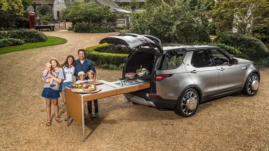 Un Land Rover Discovery transformé en cuisine