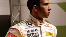 Lewis Hamilton Wax Work Figure Unveiled At Madame Tussauds