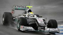 Nico Rosberg (GER), Mercedes GP, W01, 12.02.2010, Jerez, Spain