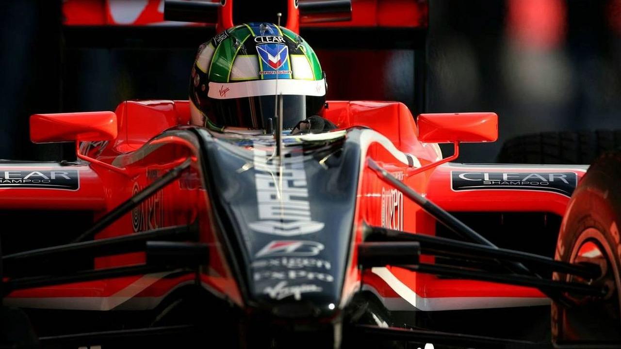 Lucas di Grassi (BRA), Virgin Racing - Formula 1 Testing, 25.02.2010, Barcelona, Spain