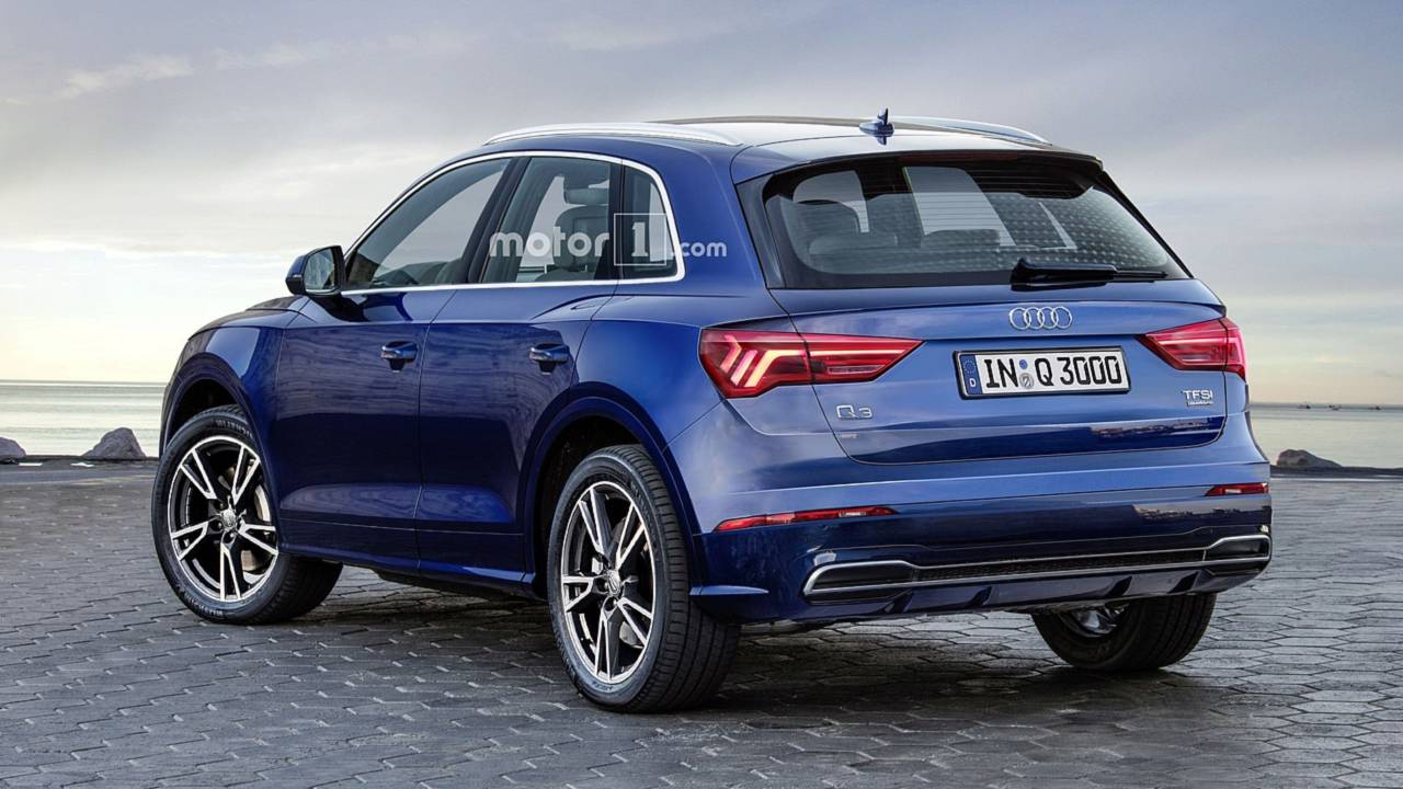 2019 audi q3 render photos for Quando esce la nuova audi q3 2018