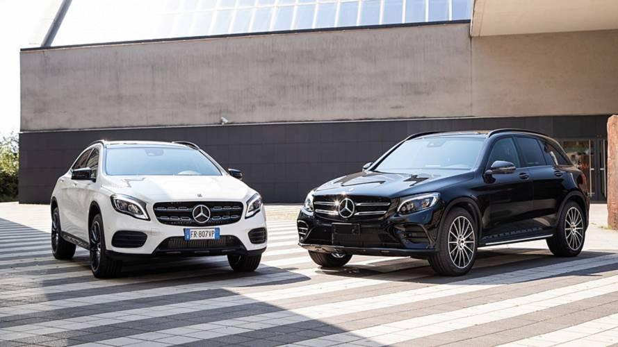 Mercedes GLA Night Edition