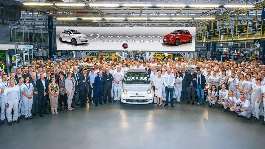 Fiat 500, prodotto a Tychy l'esemplare numero 2 milioni