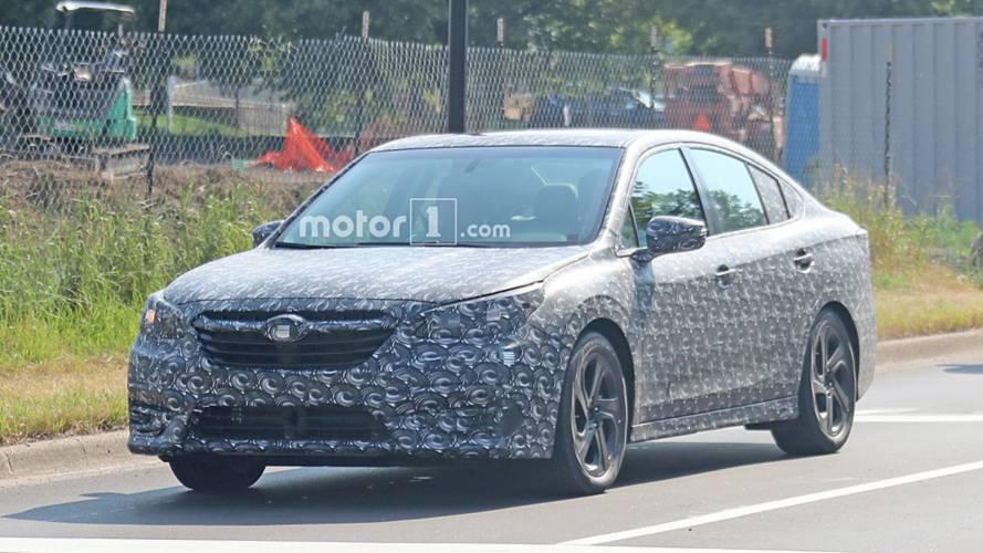 Next Subaru Legacy Strips Off Body Cladding In New Spy Shots