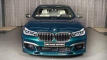 BMW M760Li xDrive Boston Green